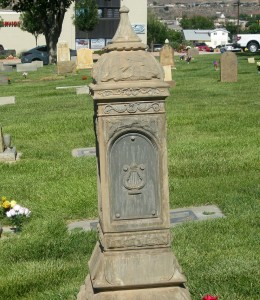 An old cenotaph from the St. George City cemetery, St. George, Utah, June 1, 2015   Photo by Ric Wayman, St. George News