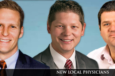 Headshots from left to right, Jotham Manwaring, Tyler Hansen, Mark Stevens | Headshots courtesy of Intermountain Medical Group, St. George News