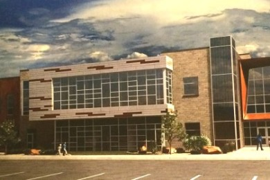 Possible design for the elementary school to be built next to the Dixie Sunbowl on 100 North, St. George, Utah, July 30, 2015 | Image courtesy of the Washington County School District, St. George News