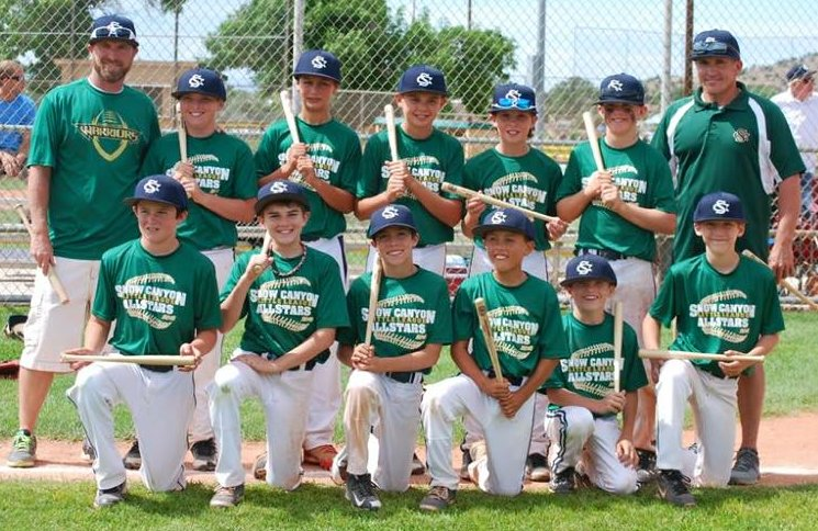 Snow Canyon 12-year-old All-Stars.