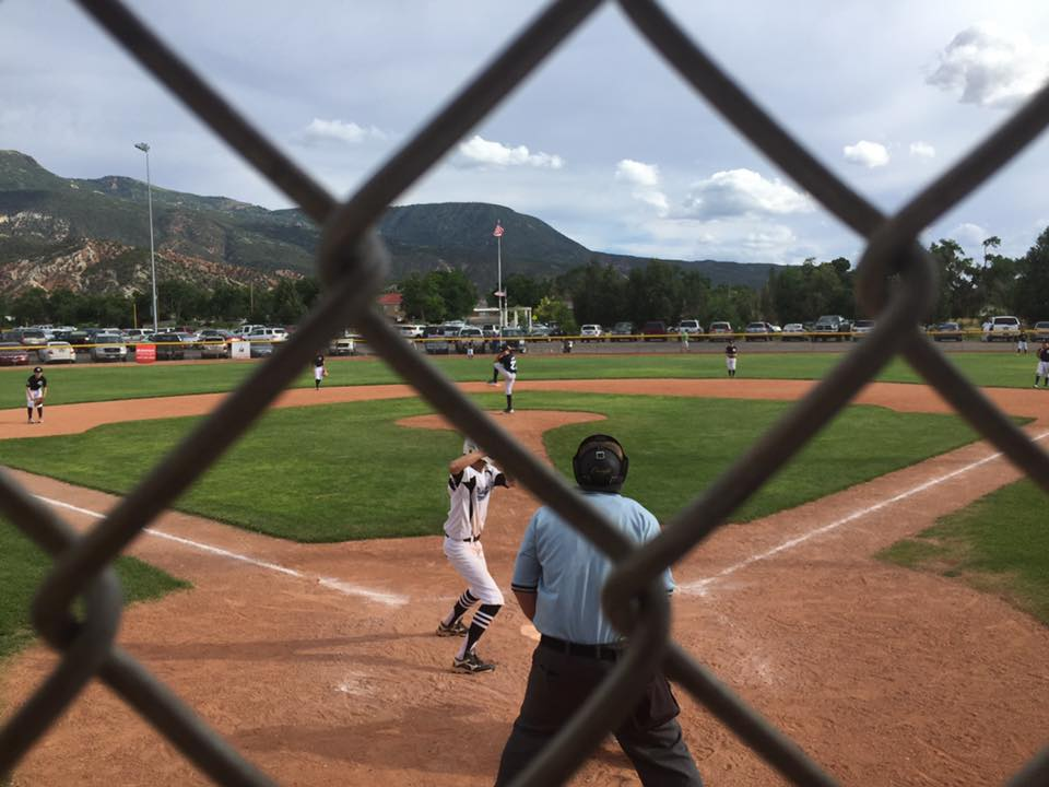 Action at the Utah state Little League Tournament in Cedar City. | Photo courtesy Devin Dixon