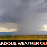 Storm in St. George area, Utah, July 3, 2015 | Photo courtesy of Jorge Urprofessor, St. George News