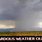 Storm in St. George area, Utah, July 3, 2015   Photo courtesy of Jorge Urprofessor, St. George News