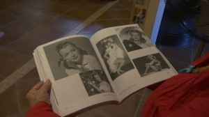 """Publicity shots of Dale Evans included in """"Cowboy Princess Rides Again"""" Photo by Sheldon Demke, St. George News"""