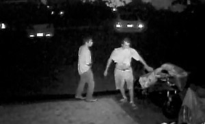 St. George police are asking for the public's help in identifying these suspects in an early Friday morning motorcycle theft, St. George, Utah, August 21, 2015 | Photo courtesy of St. George Police Department, St. George News
