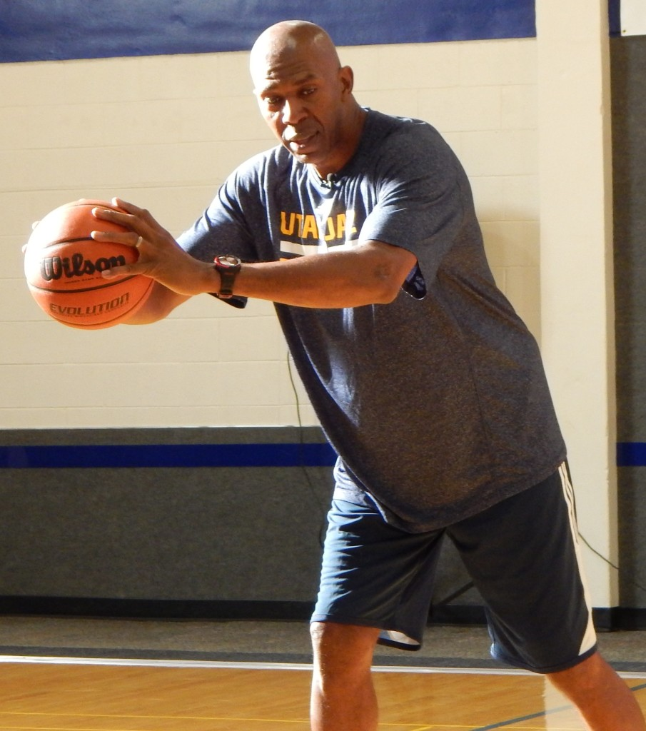 Big T talks basketball life with youth at St George Rec Center