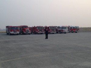 """""""Stay safe brothers"""", Fairchild Airforce Base, approximately 12 miles southwest of Spokane, Washington, August 24, 2015 