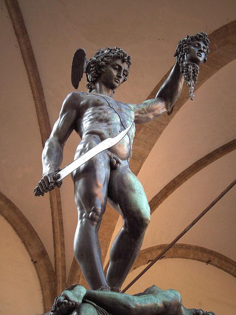 Perseus by Benvenuto Cellini, Loggia dei Lanzi, Florence, Italy   Image in the public domain, St. George News
