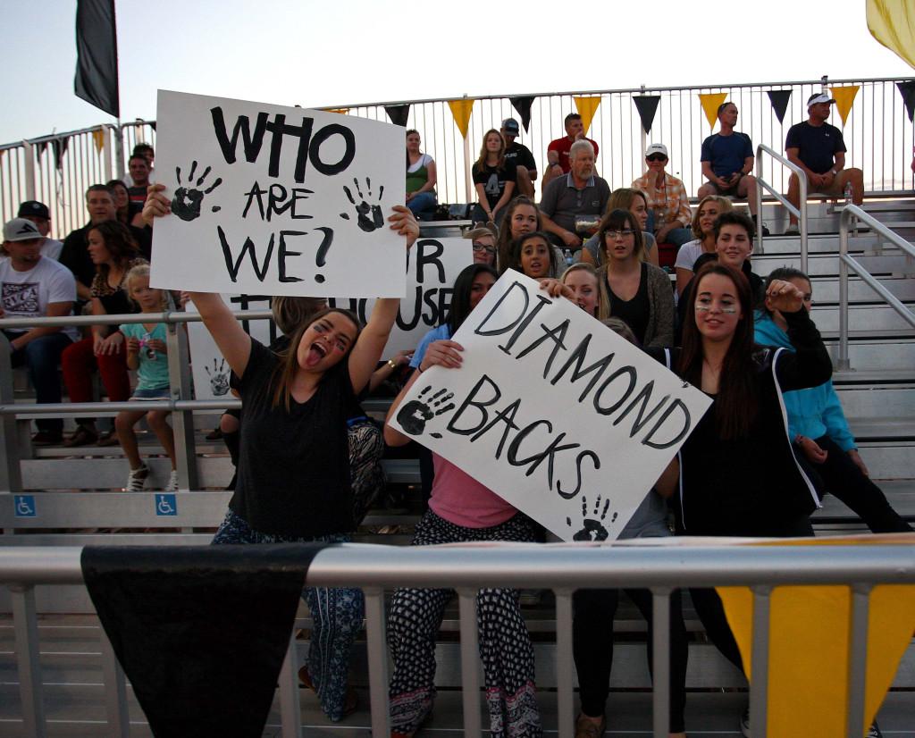 Diamond Ranch Academy vs. Desert Hills JV, Football, Hurricane, Utah, Aug. 27, 2015, | Photo by Robert Hoppie, ASPpix.com, St. George News