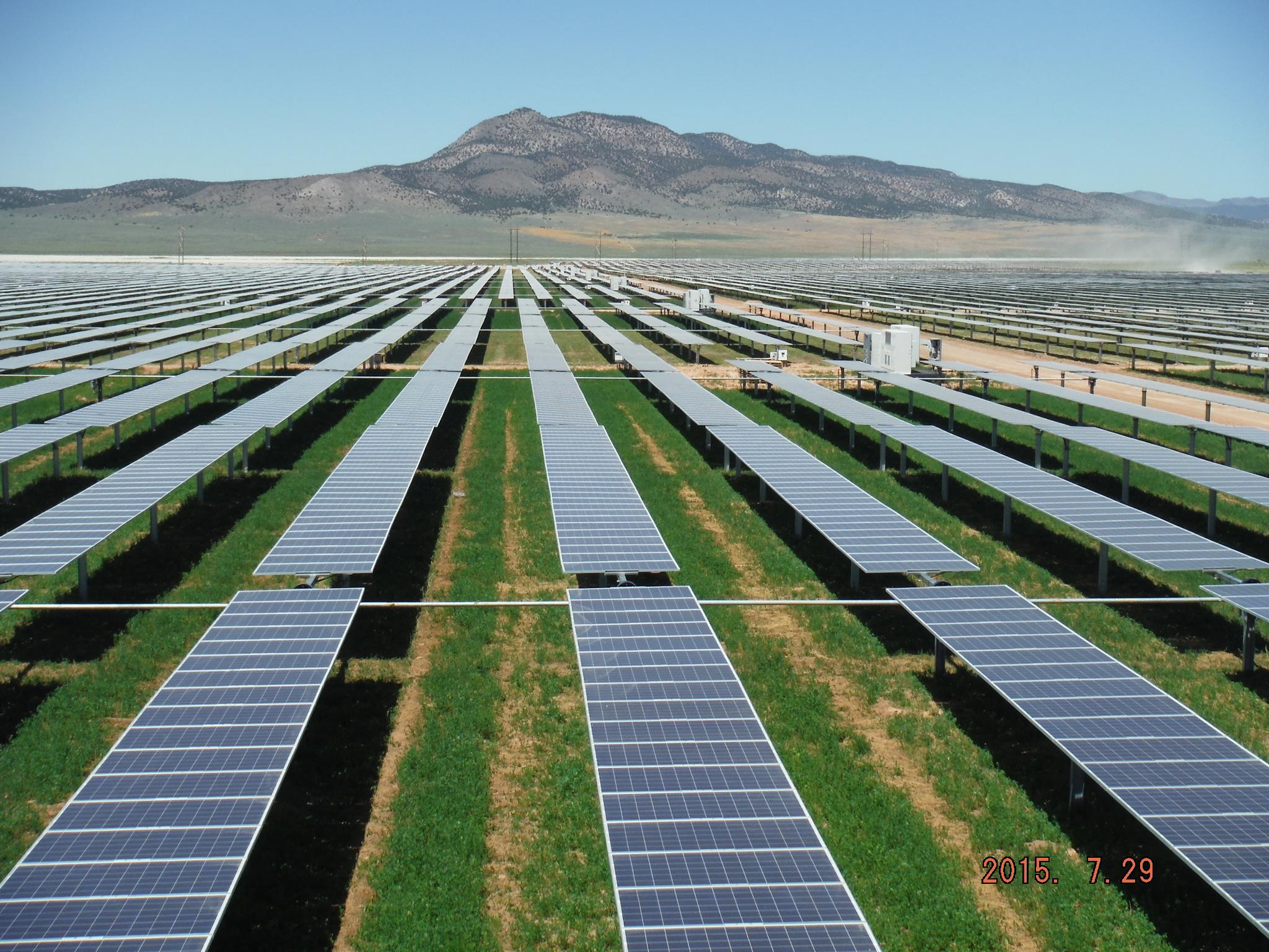 Utah Red Hills Renewable Park solar project, Parowan, Utah, Undated photo | Photo courtesy of Scatec Solar North America, St. George News