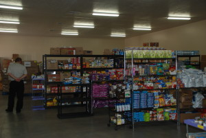 Food pantry at Switchpoint Community Resources Center, St. George, Utah, Aug. 12, 2015 | Photo by Jessica Tempfer, St. George News