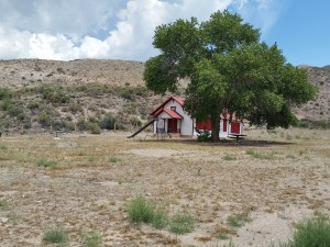 The historic Elgin Schoolhouse on the way to the Delamar Mine, Caliente, Nevada, June 13, 2015 | Photo by Julie Applegate, St. George News