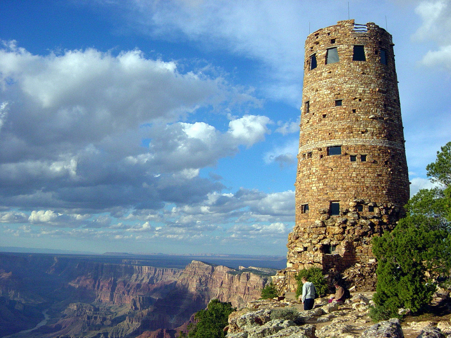Designed in 1932 By Mary Colter and constructed by the Santa Fe Railroad, The Desert View Watchtower overlooks the eastern end of Grand Canyon National Park. The Colorado River is visible lower left. Grand Canyon National Park, Arizona, undated | Photo courtesy of National Park Service, St. George News