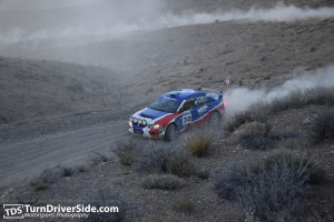 George Plsek, of Del Mar, California, a well-known national performance rally competitor, was the first to suggest the Cedar City area roads would be perfect for a stage rally., location and date unspecified   Photo courtesy of TurnDriveSide.com, St. George News