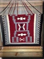 Navajo weaving of Gerard Begay, location and date not specified | Photo courtesy of National Park Service, St. George News