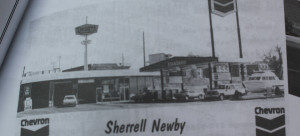 Photo of the Hilltop Conoco gas station when it was originally Chevron, St. George, Utah, date not specified | Photo Courtesy of Jeff Newby, St. George News