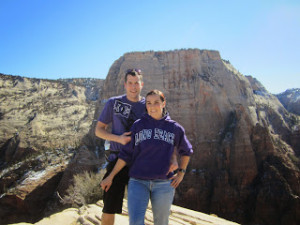 Joe and Andrea Stubbs, location and date not specified | Photo Courtesy of Pound the Pavement for Parenthood, St. George News