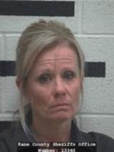 Shalene May Lathim, of Fredonia, Arizona, booking photo posted April 2015   Photo courtesy of Kane County Jail, St. George News