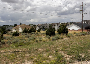The neighborhood on the other side of the Windmill Plaza LLC subdivision site on the south end of Cedar City, Cedar Knolls area, Cedar City, Utah, July 21, 2015 | Photo taken by Carin Miller, St. George News