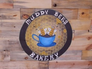 The Muddy Bees Bakery logo. Hurricane, Utah, Aug. 24, 2015 | Photo by Julie Applegate, St. George News