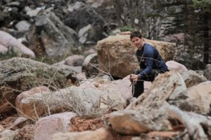 Man in the wilderness | Image courtesy of NBC communications, St. George News