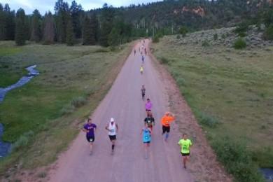 Yankee Meadow Run Half-Marathon, Parowan, St. George, Utah, Aug. 1, 2015   Photo by Corey McNeil, St. George News