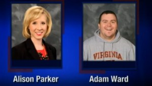 This screenshot from WDBJ-TV7, in Roanoke, Va., shows reporter Alison Parker and photographer Adam Ward. Parker and Ward were killed, Wednesday, Aug. 26, 2015, when a gunman opened fire during a live on-air interview in Moneta, Va. | AP Photo  courtesy of WDBJ-TV7, St. George News