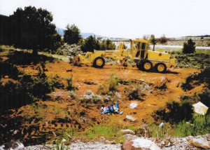On site construction at the Windmill Plaza LLC subdivision before prelinary plat approval, Cedar Knolls area, Cedar City, Utah, May 5, 2015   Photo courtesy of Wade Grimm, St. George News
