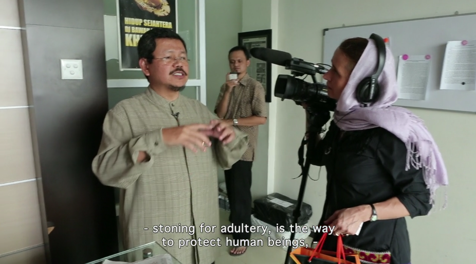 """Screenshot from trailer for documentary film, """"ManIslam,"""" which talks to four men in four countries who are pushing a more progressive version of Islam, one that questions ideas about patriarchal roles in society … and the obstacles they face. The film will show at DOCUTAH International Film Festival in the Dolores Doré Eccles Main Stage on Dixie State University campus, at 4 p.m. on Sept. 9, St. George, Utah   Photo courtesy of DOCUTAH, St. George News"""