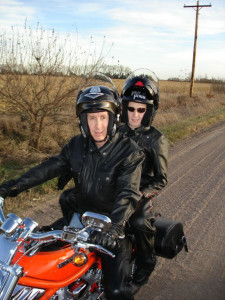Warren Jeffs on a motorcycle during his time as a fugitive, date and location not specified | Photo courtesy of Willie Jessop, St. George News