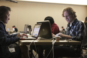 Student participates in cyber security competition, Cedar City, Utah, July 31, 2015 | Photo courtesy of Southern Utah University, St. George News
