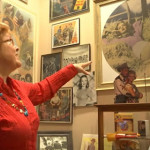 Cheryl Rogers-Barnett shares stories about her collection of memorabilia, Washington, Utah, Aug. 24, 2015 | Photo by Sheldon Demke, St. George News
