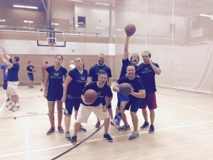 The Mountain America Credit Union team, which won the challenge, in the Washington County Community Center, Aug. 14, 2015 | Photo courtesy of Janie Belliston, St. George News