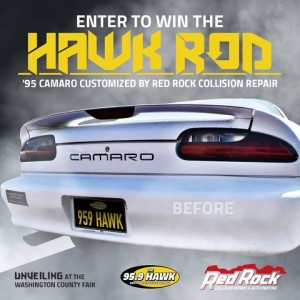 Hawk Rod flyer | Image courtesy of 95.9 The Hawk, St. George News