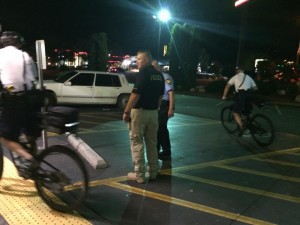 Officers arrested a man at McDonald's on Bluff Street after an alleged kidnapping, St. George, Utah, Aug. 14, 2015 | Photo by Cami Cox Jim, St. George News