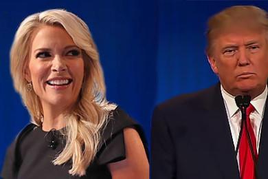 L-R: Megyn Kelly, Donald Trump. Image composite, St. George News