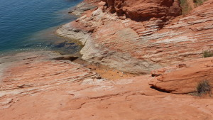 The need for litter and grafitti cleanup drive the state park's closure of the jumping rocks at Sand Hollow State Park for the weekend.  Hurricane, Utah, Aug. 24, 2015 | Photo by Julie Applegate, St. George News