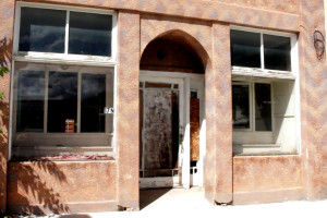 The Rufus Building that is being auctioned for $1 to whoever writes the best essay, Main St., Parowan, Utah, August 31, 2015 | Photo by Carin Miller, St. George News