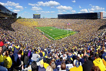 """Michigan Stadium, aka """"The Big House"""""""