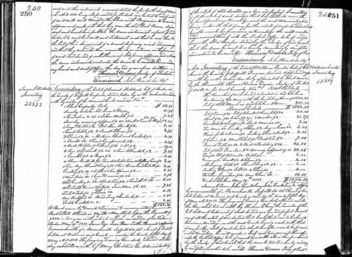 This undated public document from Massachusetts probate records provided by ancestry.com, shows a portion of Paul Revere's will. A three-year digitization project by the genealogical research firm will make available online, starting Wednesday, Sept. 2, 2015, wills and probate records of about 100 million Americans from the Colonial era to the beginning of the 21st century. | Massachusetts Probate Records/ancestry.com via AP; St. George News | Click on image to enlarge