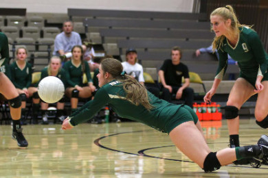 Snow Canyon vs. Hurricane, Volleyball, St. George, Utah, Sept. 29, 2015, | Photo by Robert Hoppie, ASPpix.com, St. George News