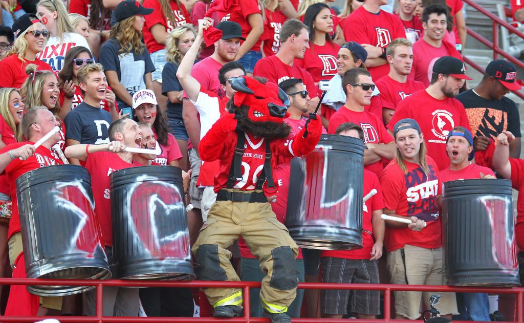 Dixie State University vs. Colorado Mesa University, Football, St. George, Utah, Sept. 5, 2015, | Photo by Robert Hoppie, ASPpix.com, St. George News