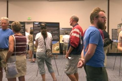 A BLM open house for recently released draft management plans, St. George, Utah, Sept. 1, 2015 | Photo by Leanna Bergeron, St. George News
