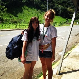 Chelsea Hatch (R), volunteers in Costa Rica, date not specified | Photo courtesy of Chelsea Hatch, St. George News