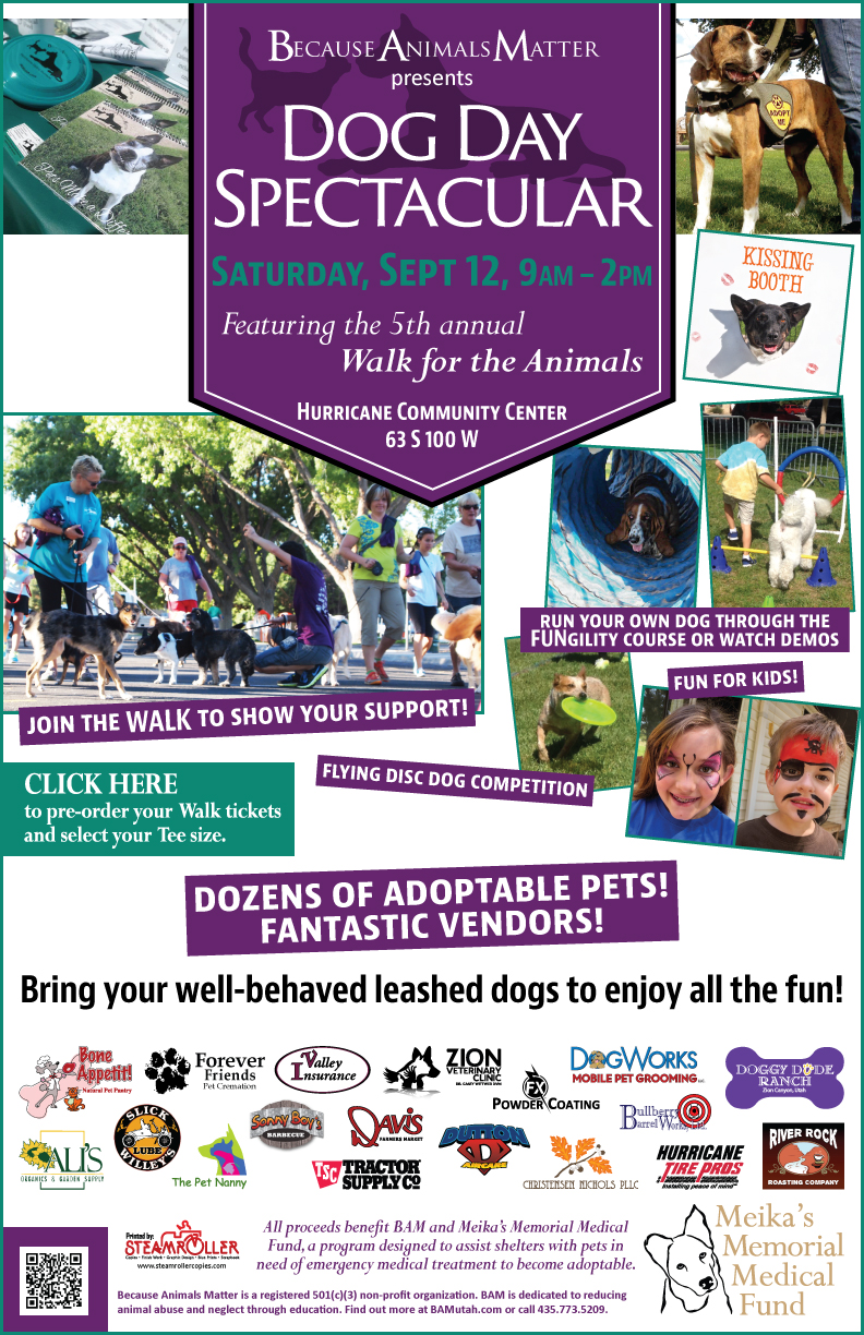 """Dog Day Spectacular"" 