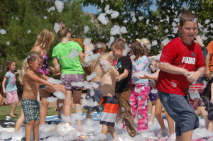 """Bubbles of fun at Leed's """"Wild West Days."""" Leeds, Utah, Sept. 12, 2015 