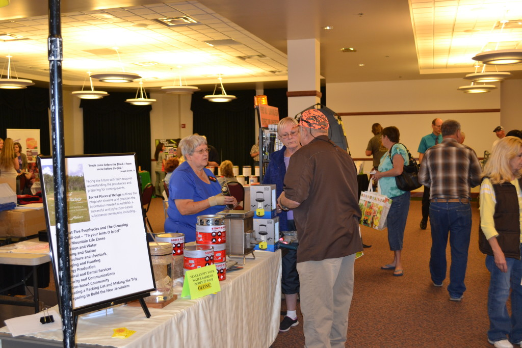 Vendors and attendees at the Iron County Emergency Preparedness Expo, Cedar City, Utah, Sept. 19, 2015 | Photo by Emily Hammer, St. George News