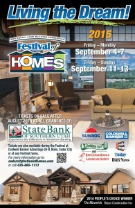 Festival of Homes event flyer | Image courtesy of cedarcityfestivalofhomes.com, St. George News