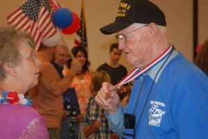 Utah Honor Flight returns, St. George, Utah, June 6, 2015 | Photo by Hollie Reina, St. George News