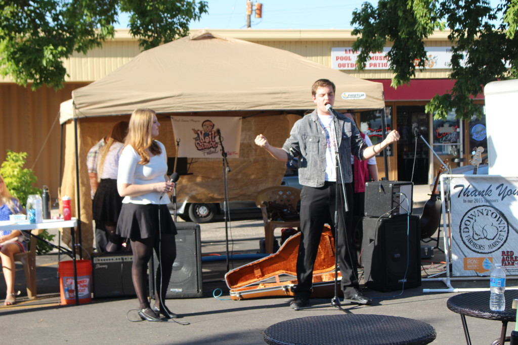 The Cedar City Downtown Farmer's Market happens every Wednesday from 4-7 p.m. until Oct. 7, Cedar City, Sept. 9, 2015 | Photo by Emily Hammer, St. George News